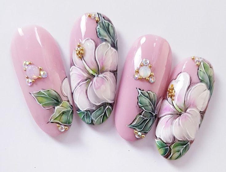 вами согласна рисунки лилии на ногтях фото розетки нестандартное