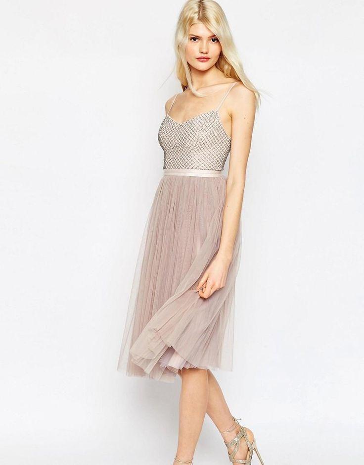 Needle & Thread   Needle & Thread Coppelia Embellished Ballet Tulle Dress at ASOS
