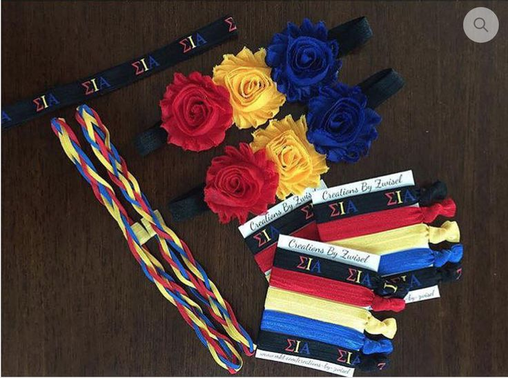What's better than to be a Lovely Latin Lady? Rep your SIA letters with these adorable hair ties, and headbands! From this listing, you can purchase any of the SIA inspired items. Make sure to choose which option from the drop down menu!