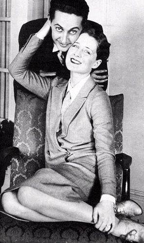 Norma Shearer with husband MGM wonder boy Irving Thalberg.