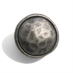 """1 3/8"""" Merlot Knob - Antique Pewter"""