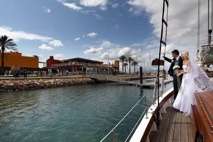 Tivoli Marina Portimão - Ever tough about arriving to your venue by boat? What a special moment that would be!