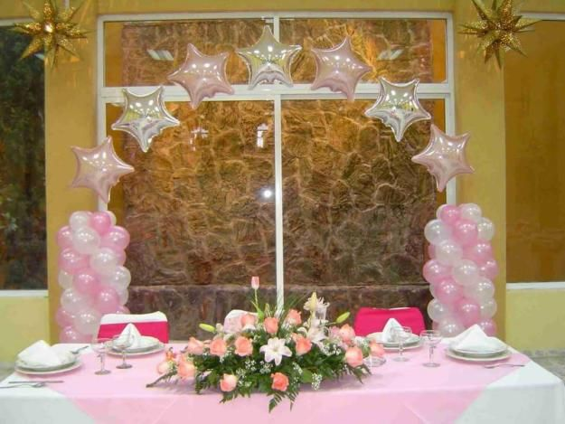 Decoracion para una quinceanera contamos con una gran for Decoracion pared salon original