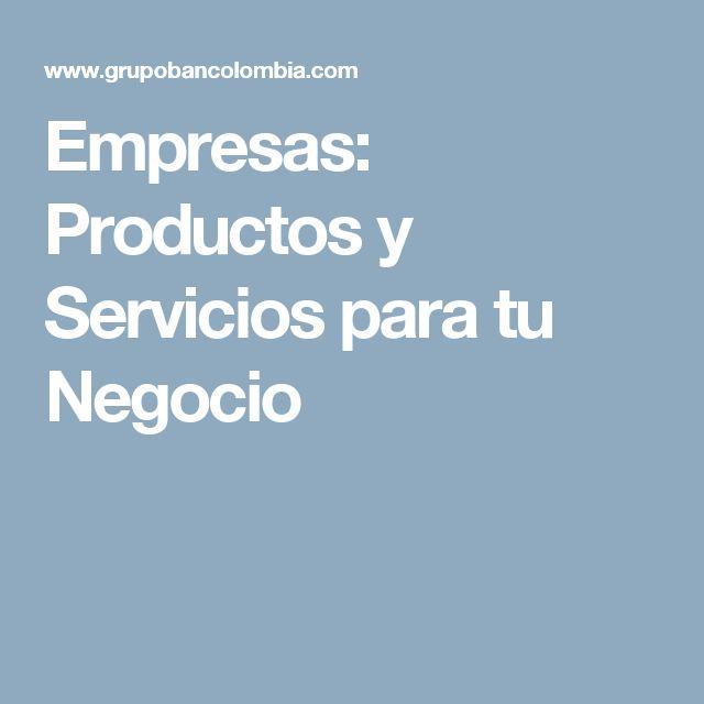 Empresas: Productos y Servicios para tu Negocio