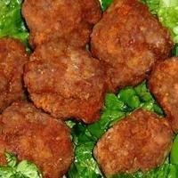 Albanian meatballs! The mint made them really tasty. I used lamb, pork and beef and they were awesome!