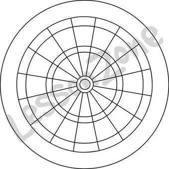 dart board coloring pages - photo#29