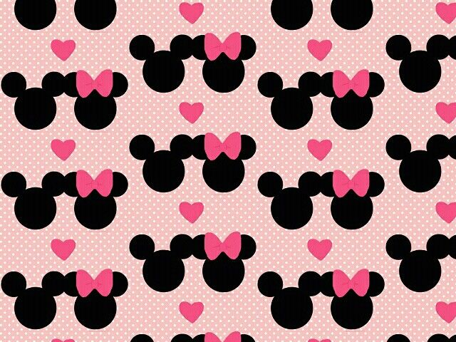 Cute minnie and mickey mouse wallpaper | Fondos<3 | Pinterest ...