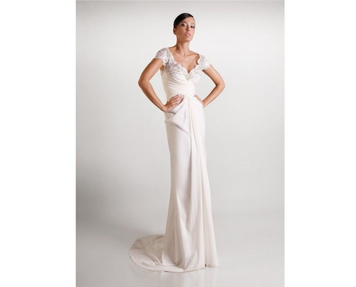 Showing this dress by Gemy Maalouf tomorrow at the Journey of Love event with Lover.ly and Hornblower.