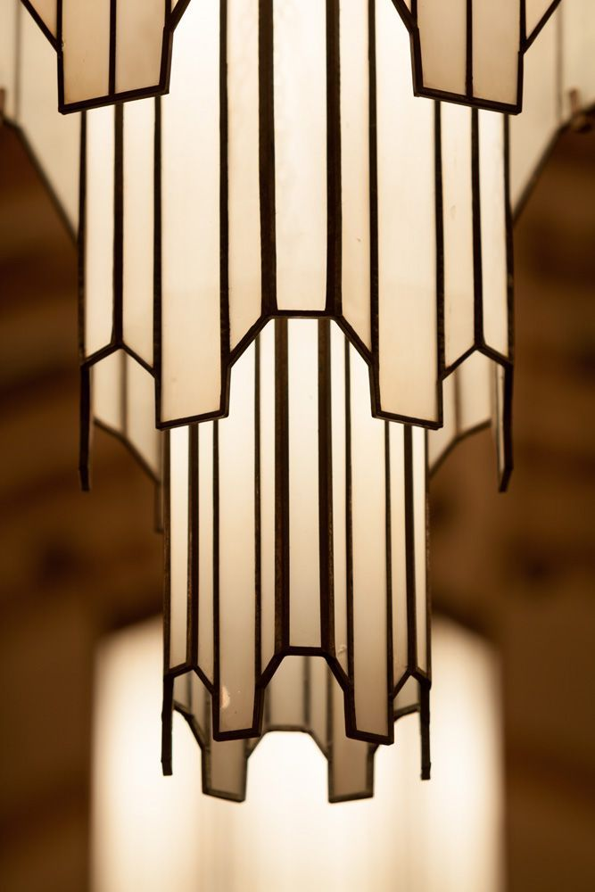 art deco hanging lamp art deco pinterest. Black Bedroom Furniture Sets. Home Design Ideas
