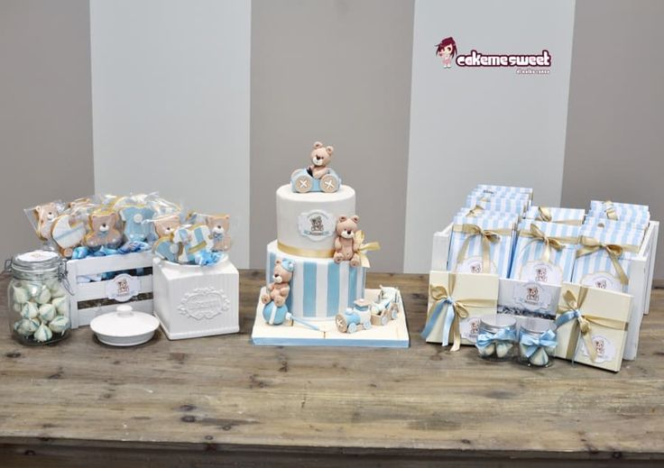 Christening dessert table by Naike Lanza