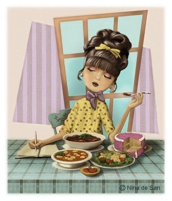 Яркие и позитивные иллюстрации Nina de San - Ярмарка Мастеров - ручная работа, handmade