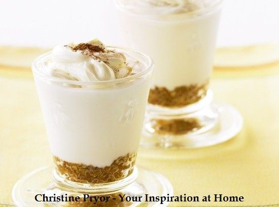 Lemon Cheesecake Cups us Your Inspiration at Home Lemon Myrtle Sugar. http://www.kaycescheffler.yourinspirationathome.com.au