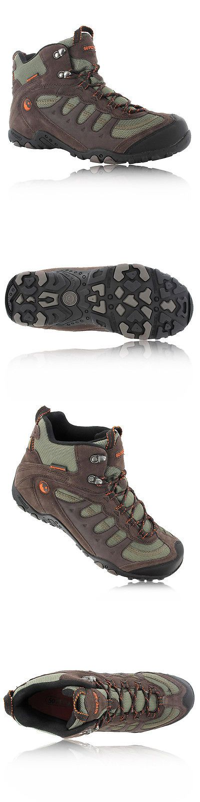 Other Camping Hiking Clothing 27362: Hi-Tec Mens Penrith Brown Mid Waterproof Trail Hiking Walking Boots Shoes New -> BUY IT NOW ONLY: $45.21 on eBay!