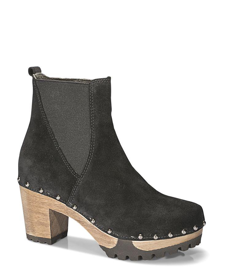OLGA Bailey schwarz #softclox #soft #clogs #munich #muc #OLGABailey #black #autumn #fall #shoes #fallshoes #fallfavorites #winter #wintershoes #woddensole #veloursleather