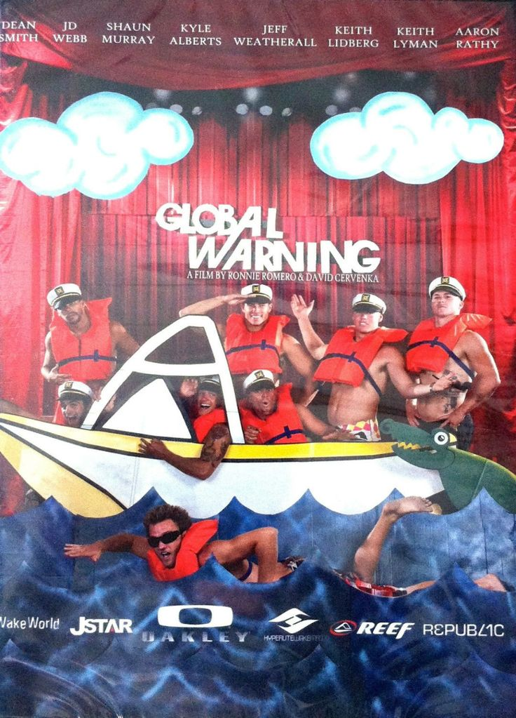 Global Warning Wakeboard DVD by Ronnie Romero and David Cervenka