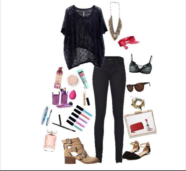 Me encanta este outfit creado por la comunidad de fashionistas de DressingLab. Si quieres saber en dónde comprar cada prenda haz clic en la imagen.