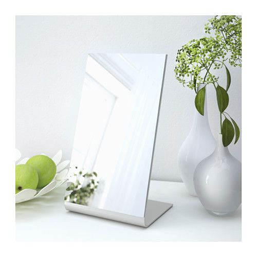 TYSNES Table mirror IKEA Suitable for use in most rooms, and tested and approved for bathroom use.