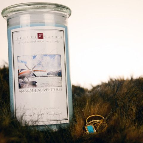 Alaskan Adventure Jewelry Candle! Click to check it out=)