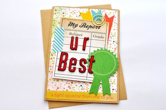 Teacher Card Teacher Appreciation Day Teacher by @papersimplicity