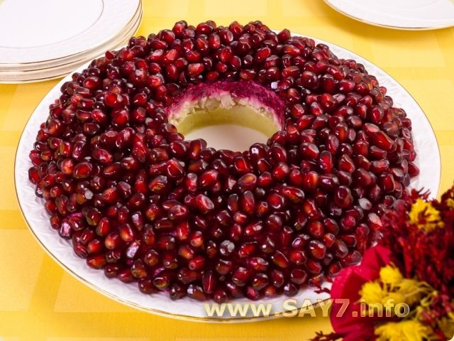 салат золотое кольцо рецепт с