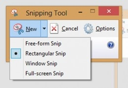How to Use the Microsoft Snipping Tool to Take a Screenshot