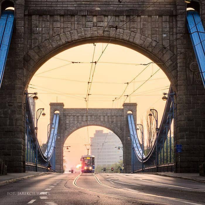 Grunwaldzki Bridge Wrocław