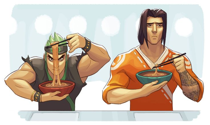 I wonder if Genji was an annoying little brother…