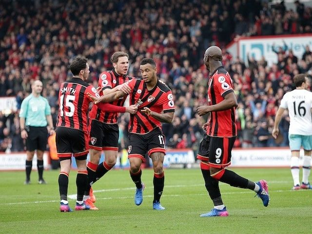 Result: Joshua King hat-trick gives Bournemouth thrilling win over West Ham United