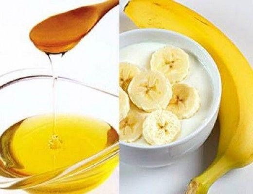 """""""masque banane yaourt visage"""""""