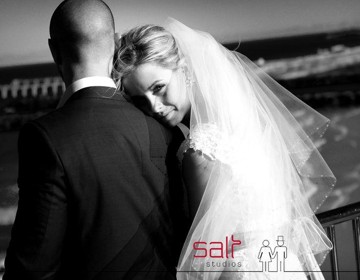 Cheeky Bride hug!