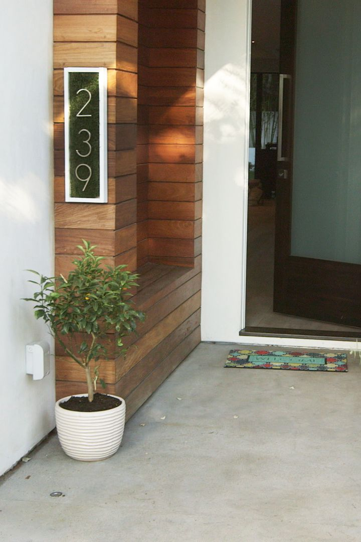 All modern house numbers