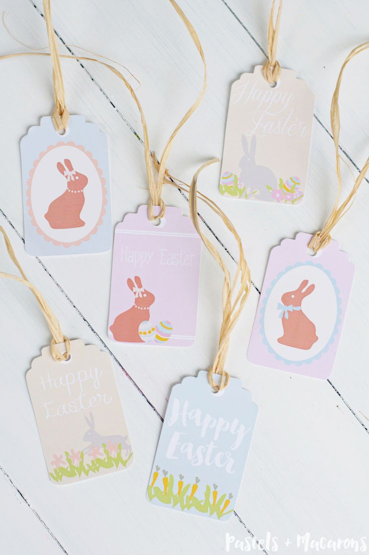 25 unique easter gift ideas on pinterest egg boxes easter download your free printable easter gift tags for all your gifts this easter you get negle Image collections
