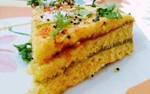 Instant Sandwich Khaman Dhokla Recipe