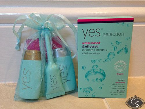 Loving this travel friendly box set from yes lubricants!