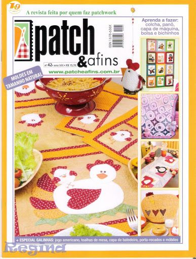 Patcheafins n42 - Sueli Rodrigues - Picasa Web Albums...patchwork patterns!