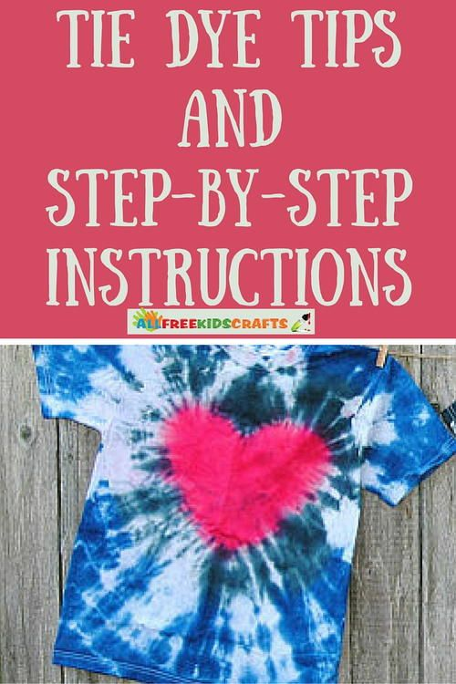 Easy Tie Dye Tips and Step-by-Step Instructions | Become a tie dye master with these amazing tips and tricks!