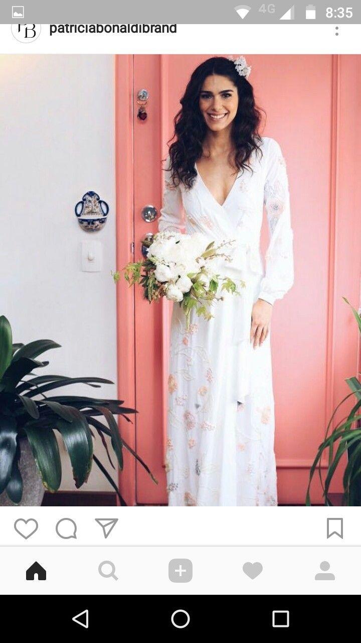 Mejores 22 imágenes de Inspiração Vestidos de Noiva en Pinterest ...
