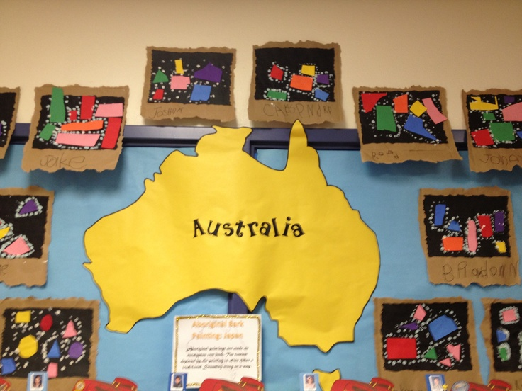 Classroom Decorations Australia ~ Australia bulletin board themes pinterest