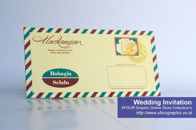 Undangan Pernikahan Modep Amplop