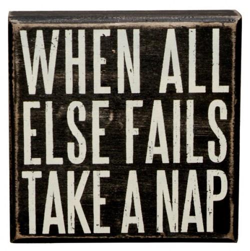 Naps solve everything