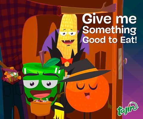 The gang is anxiously waiting for Halloween! How excited are you?