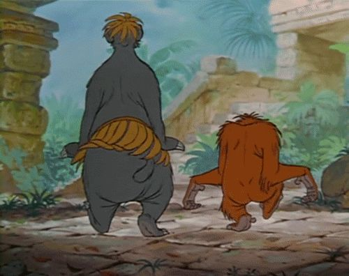 KING LOUIE AND BALOO DANCING - Google Search