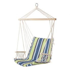 As you settle into the Prime Garden Hanging Hammock Chair, you'll understand what true relaxation is all about! Made of long-lasting, weather-resistant spun polyester. Thick polyester fiberfill cushioning in both the seat and back will envelop you in such luxurious comfort that you'll want to spend every moment of summer lounging in it. The mildew-resistant, […]