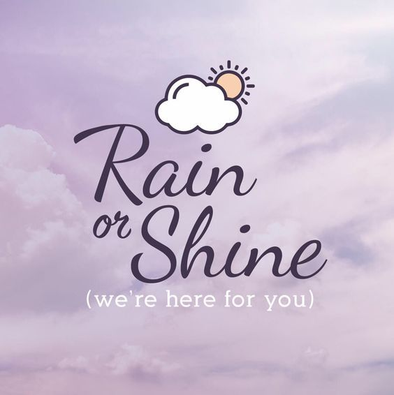 Ottawa, we sure have been getting a lot of rain this year. Good news, we are ready to best serve you, rain or shine.