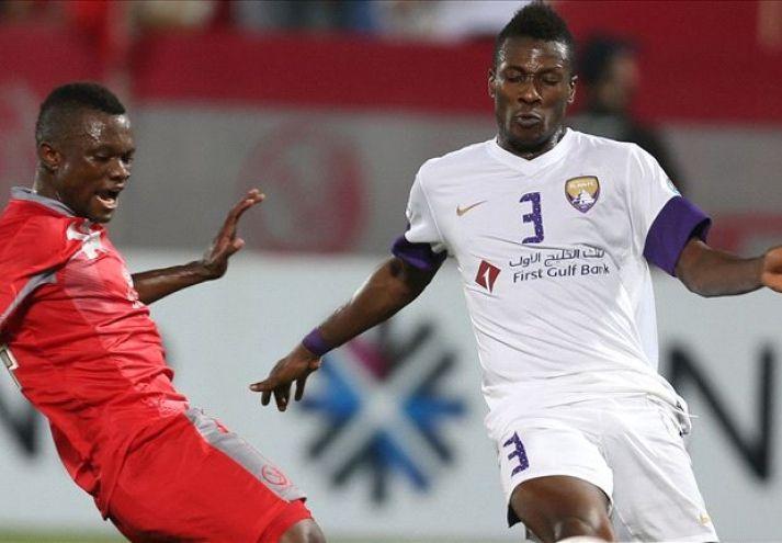 Asamoah Gyan makes cameo for Emirati champions - http://www.ghanatoghana.com/asamoah-gyan-makes-cameo-for-emirati-champions/
