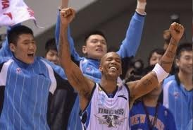 NBA:  Stephon Marbury wins Chinese Basketball Association title and scores 41.     Former NBA All-Star Stephon Marbury scored 41 points Friday to lead the Beijing Ducks to their first-ever Chinese Basketball Association title, beating the defending champion Guangdong Tigers 124-121 in Game 5 of the best-of-seven series.    keepinitrealsports.tumblr.com    keepinitrealsports.wordpress.com