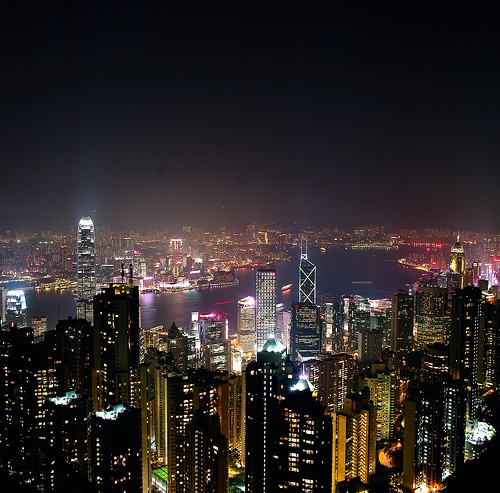 Hong Kong skyline- another Sonic Emotion office location!