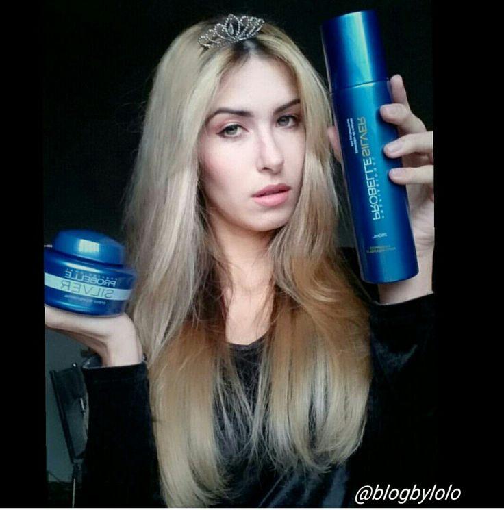 Shampoo e creme matizador da Probelle!#probelle #cabelos#divos#loira#loiras