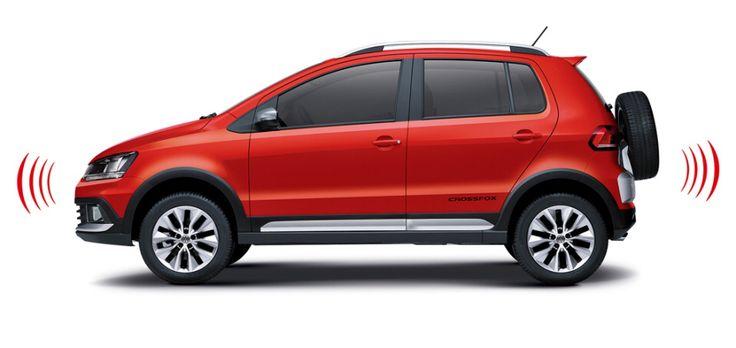 Volkswagen Crossfox Park Asist Parking Sensors