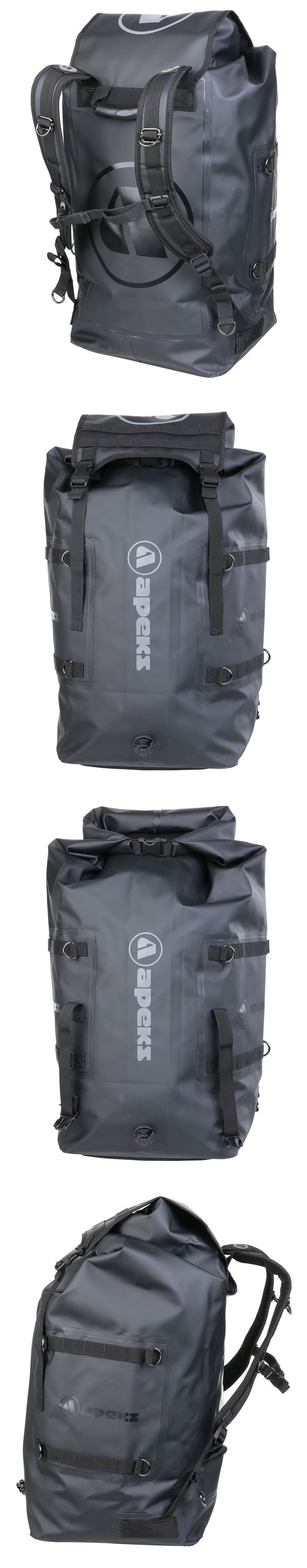 Gear Bags 29576: Apeks Dry 75 Twin Core Dry Bag Scuba Gear Backpack BUY IT NOW ONLY: $180.0 #scubadivingequipment #scubadivingadventures